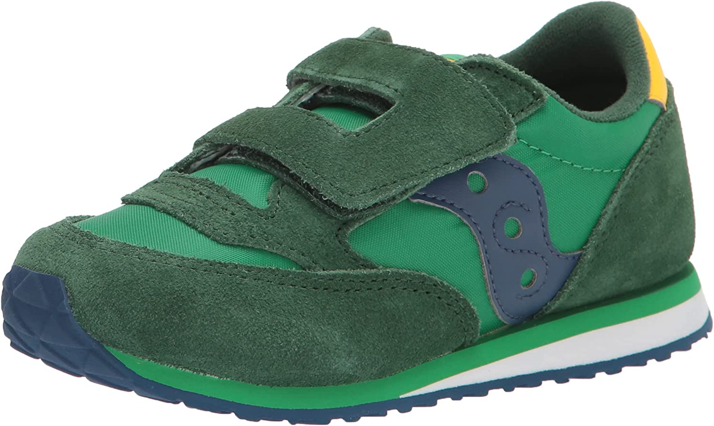 Saucony Unisex-Child Baby Jazz Hl Slip on Sneakers (Toddler-Big Kid)