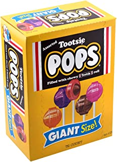 Tootsie Pops Giant Size (72 Count), Variety Pack