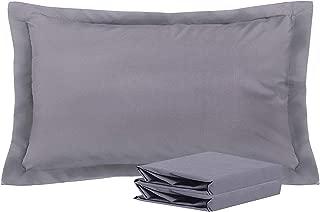 Best gray king size pillow shams Reviews