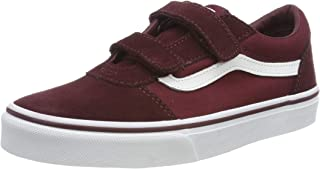 Vans Ward V - Velcro Suede, Sneaker Homme