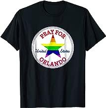 Mens Pray for Orlando, Remember Shooting Pulse Nightclub T-Shirt