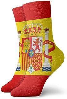 bandera española Moda Calcetines clásicos unisex Calcetines deportivos Calcetines largos de 30 cm