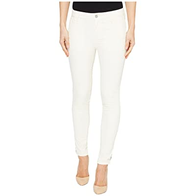 Calvin Klein Jeans Garment Dyed Cargo Ankle Skinny Pants (Eggnog) Women