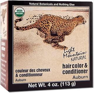 Light Mountain Natural, Hair Color-Auburn, 4 Ounce