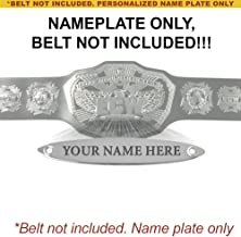 Figures Toy Company Personalized Nameplate for Adult WWE ECW 2008 Championship Replica Belt