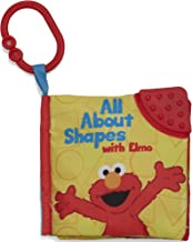 KIDS PREFERRED Sesame Street On The Go All About Shapes with Elmo Soft Teether Book, 5