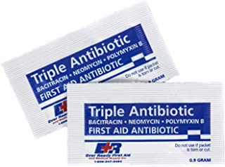 Ever Ready First Aid Triple Antibiotic Ointment .9gr Packets (Bag of 144)