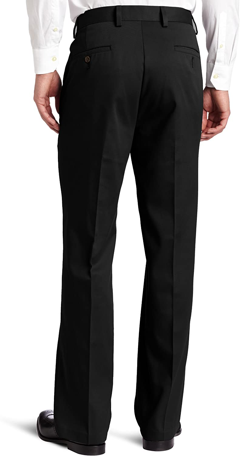 dockers Big and Tall Easy Khaki Pant Pantalons Homme Noir/Coton (Black - Cotton)