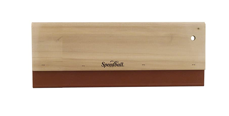 Speedball 12-Inch Fabric Squeegee for Screen Printing