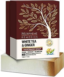 Morpheme Remedies White Tea & Ginger Handmade Luxury Soap 125g