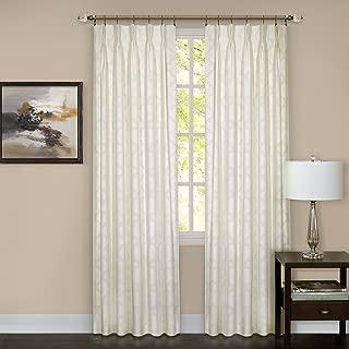 Achim Home Furnishings Windsor Phinch Pleat Curtain Panel (Single), 34