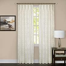 Achim Home Furnishings WNPP63IV06 Windsor Phinch Pleat Pane, 34 x 63, Ivory