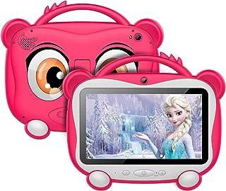 Tablet per Bambini 7 Pollici, Android 10.0 OS con GOOGLE GMS, 16 GB di Memoria, Supporto 128 GB Espandibile | WiFi 2.4 Ghz...