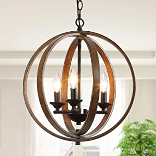 Chandeliers for Dining Room, Orb Light Fixtures Hanging...