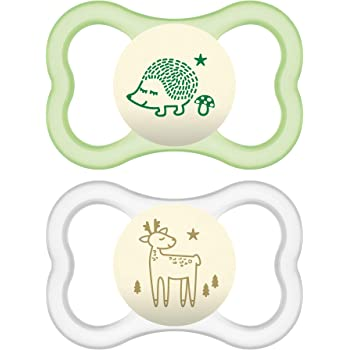 MAM Air Soother│BPA Free Multi Design│Baby/'s Pacifier│Kid/'s Dummies│12m+│2pk