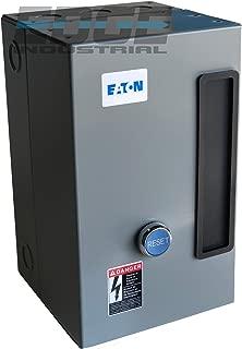 EATON A27CGD25B025 MAGNETIC MOTOR STARTER 7.5HP 3 PHASE 208-230 VOLT 25 AMP DEFINITE PURPOSE STARTER CONTROL