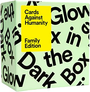 Cards Against Humanity Family Edition: Glow in The Dark Box • 300-Card Expansion