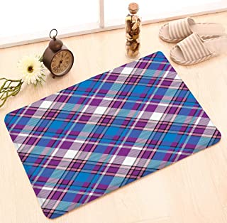 zexuandiy Door Mats Kitchen Floor Bath Entrance Rug Mat Absorbent Indoor Bathroom Decor Doormats Rubber Non Slip 23.6