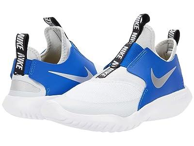 Nike Kids Flex Runner (Big Kid) (Photon Dust/Metallic Silver/Game Royal) Kids Shoes