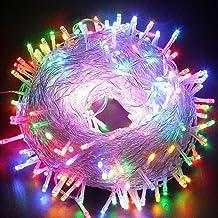 KIICN Luzes estreladas de fada, 300 LEDs, 29,9 m, 8 modos, luzes cintilantes, reguláveis, controle de intensidade de luz, ...