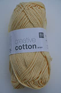 Rico Design Creative Cotton Aran - Vanilla (062)