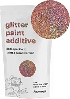 Hemway Glitter Paint Additive Ultrafine 1/128