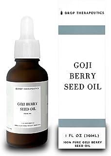 100% Pure Goji Berry Seed Oil by Drop Therapeutics - 30ml of Anti-Aging, Skin Rejuvenating, Vitamin C & E Facial Oil for A...
