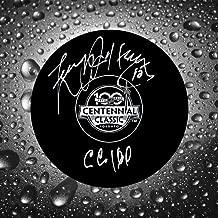 Larry Jeffrey 2017 Centennial Classic Autographed Puck Toronto Maple Leafs