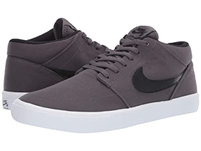 Nike SB Portmore II Solar Canvas (Thunder Grey/Black/White) Men