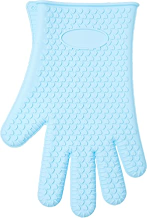 Luva De Silicone Mão, Haüskraft, Luvs-002az, Azul