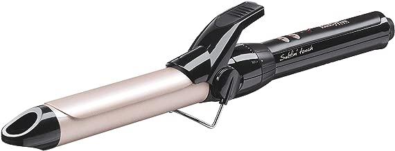 BaByliss C325E Tenacilla de pelo de 25 mm, 10 ajustes de temperatura, moldeador de pelo, cable profesional giratorio, recubrimiento Sublim Touch con punta fría de agarre