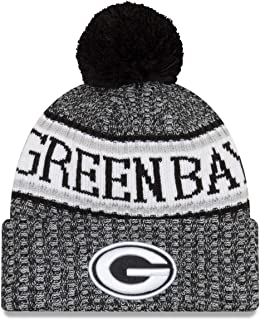 green bay packers graphite sport knit hat