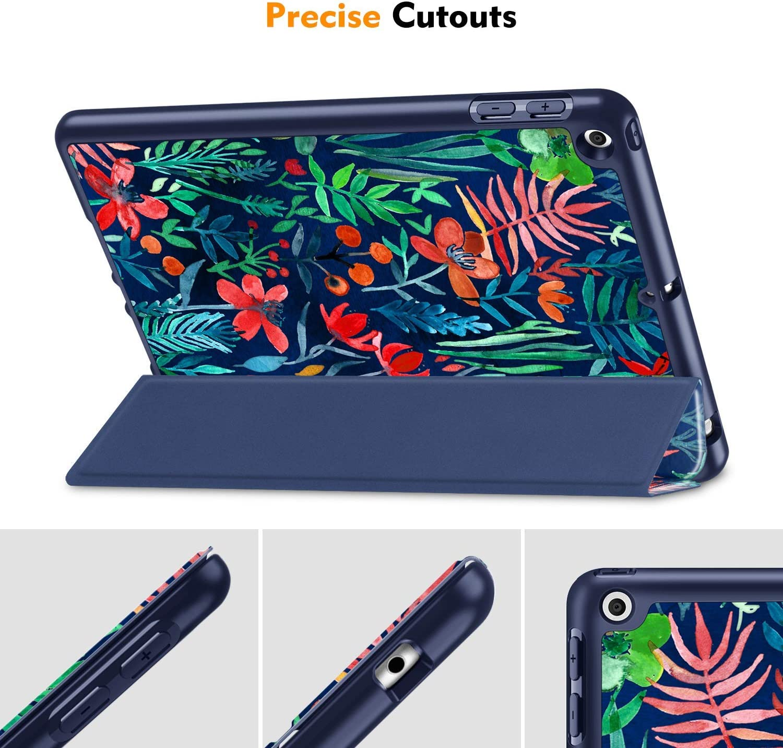 Fintie Funda para iPad 10,2 2020//2019 con Soporte Integrado para Pencil Original Carcasa Ligera Trasera de TPU Suave con Funci/ón de Auto-Reposo//Activaci/ón para iPad 8//7./ª Gen, Z-Azul Oc/éano