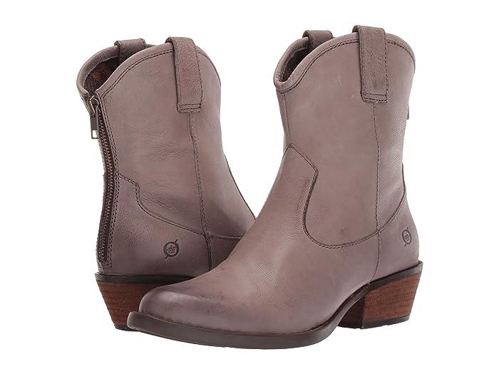 Born  Wynd (Grey Full Grain Leather) Womens  Boots