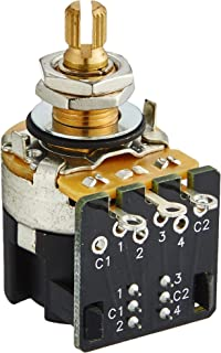CTS 500K Push/Pull Split Shaft Audio DPDT Potentiometer
