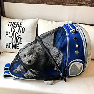 MAOSHE Pet Ba, Bubble Backpack Large Cat Carrying Backpack Pet Carrier Airline Approved Dog Bags for Small Dogs Pet Bag Ou...