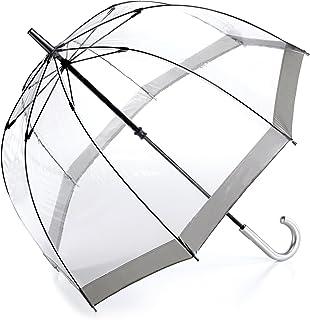 comprar comparacion Fulton Birdcage - Paraguas Transparente Gris