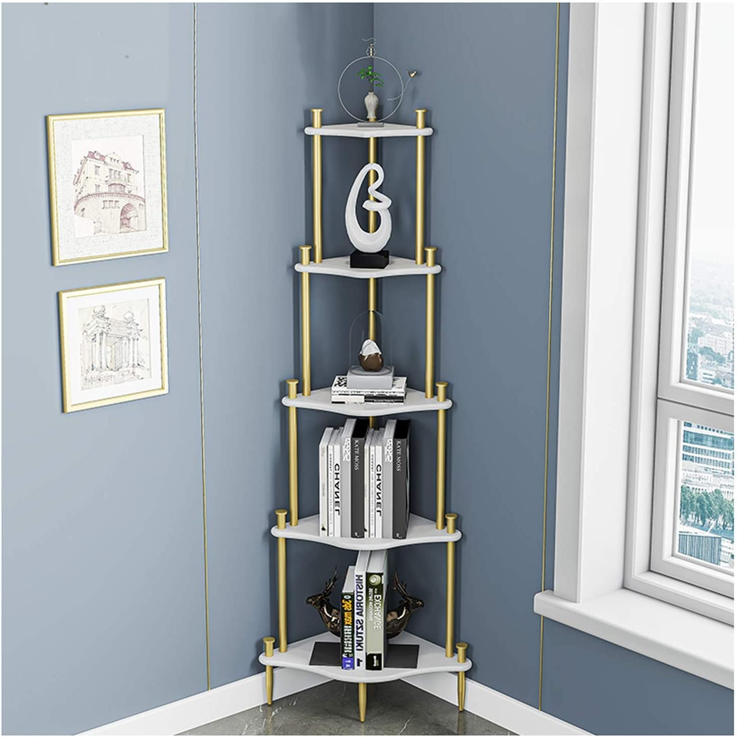 Bookcase 5 Tier Corner Kansas City Mall Metal Wooden and Frame Partition Virginia Beach Mall