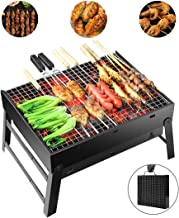 Portable Barbecue Charcoal Grill Stainless Foldable BBQ Grills�for Outdoor/Garden Cooking Camping Hiking Picnic 3-5 People Available