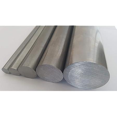 Stahl Rundstahl blank//roh//gewalzt ST37 S235 Rundeisen Rundmaterial Abmessungen /Ø 12 mm L/änge 150 cm