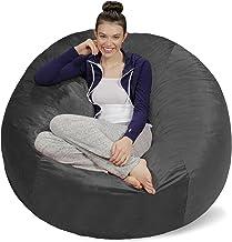 Sofa Sack - Plush Ultra Soft Bean Bags Chairs for Kids, Teens, Adults - Memory Foam Beanless Bag Chair with Microsuede Cov...