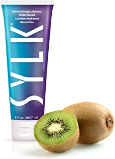 SYLK Personal Lubricant and Moisturizer, Doctor Recommended, Water Based, Non-Sticky, Condom Compatible, No Added Fragrance - 3 ounces/85 Grams