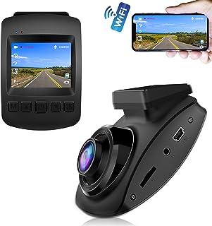 【2019 Nouvelle Version】 CHORTAU Caméra de Voiture WiFi Capteur SONY Full HD 1080P,..