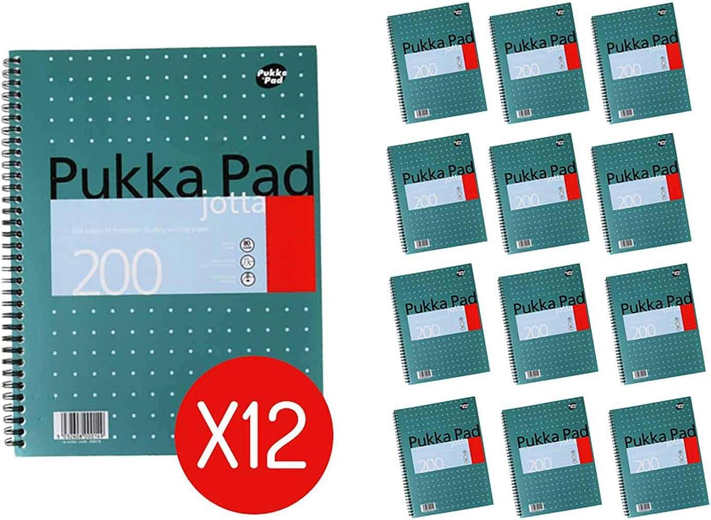 Pukka Jotta Spiralbuch (Format A4) Metallic, Metallic, Metallic, (Pack of 12) B01IVCQJDA   Stilvoll und lustig  5e2acc