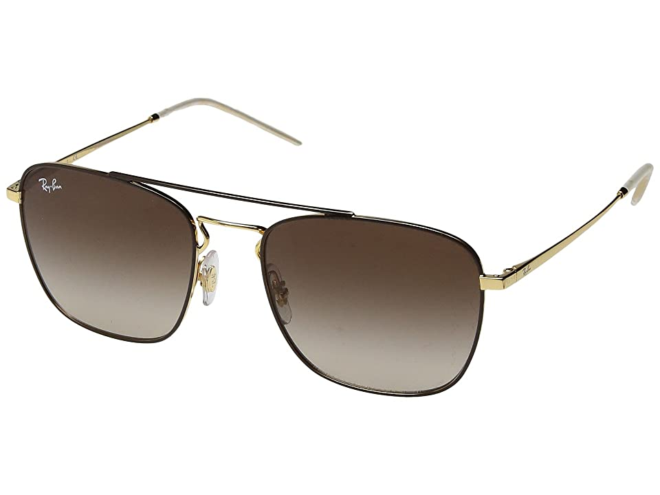 Ray-Ban RB3588 55mm (Brown/Brown Gradient) Fashion Sunglasses