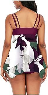 N-B Bañadores Mujer Natacion Vestidos Cortos Colores Trajes de Baño de Una Piezas 2021 Verano Bikinis de Adolescentes Chic...