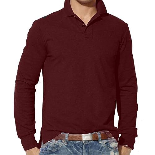 097b354d Mens Long Sleeve Polo Shirts: Amazon.co.uk