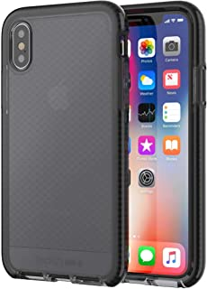 cover for Apple iPhone X Evo Check Smokey & Black by tech21