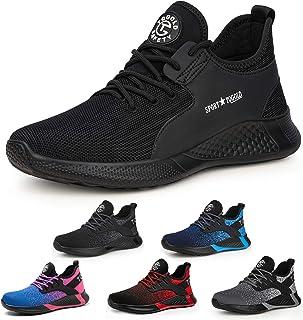 AONETIGER Chaussure de Securité Homme Femmes Légères S3 Embout Acier Basket Securite Chaussures de Sécurité Travail Protec...