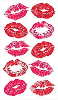 Best kissing lips tattoo pictures Reviews